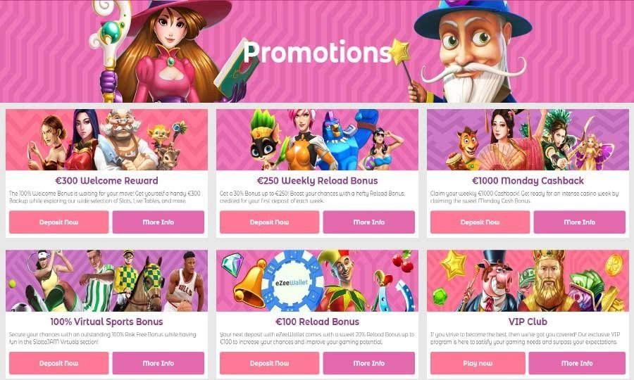 Slotto Jam Promotions