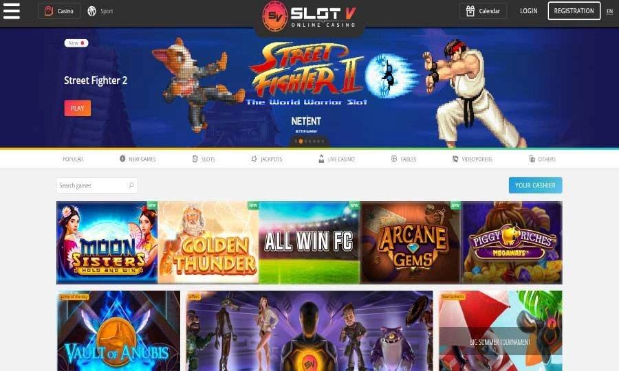 Slot V Casino Review