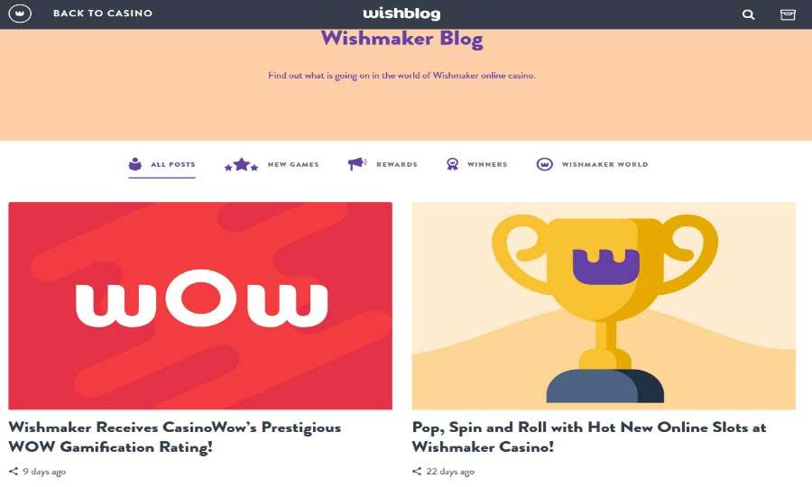 Wishmaker Casino Review