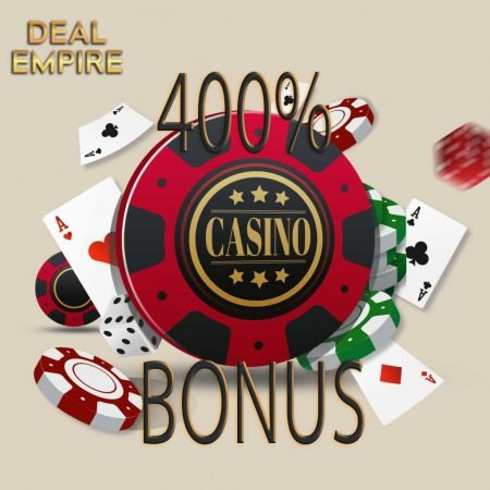 Why players should consider 400% Casino Bonuses reviewed at DealEmpire