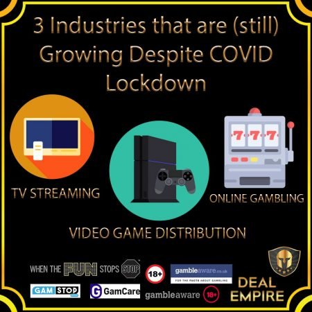 🔎3 Industries that are (still) Growing Despite COVID Lockdown